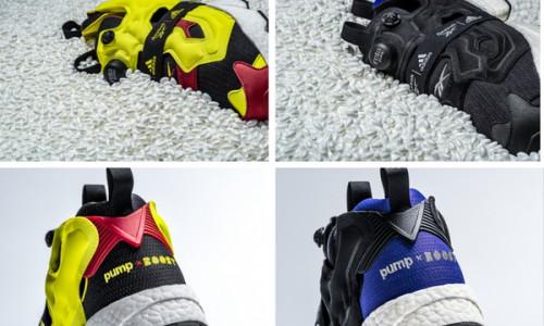 REEBOK与ADIDAS携手推出第二波 全新INSTAPUMP FURY BOOST™运动鞋